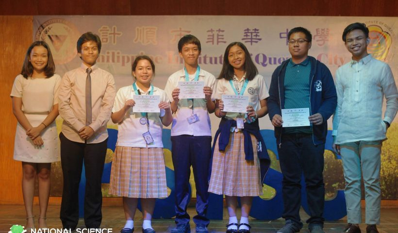 Picture of the PSHS-WVC Team in the PSO Awarding