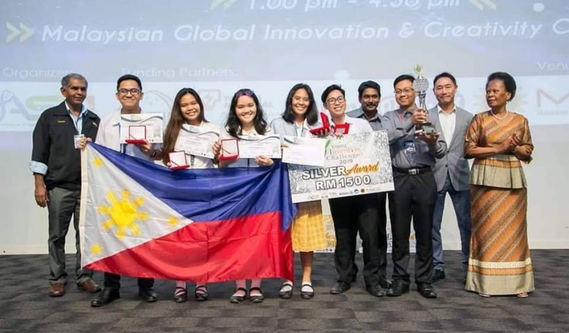 Team Voltage 5 won the silver award in the Young Inventor's Challenge 2020. Image credit: Nico Serrato
